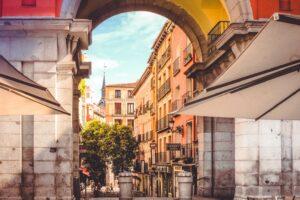 Una cortesana de lujo en Madrid